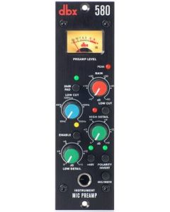 dbx 580 Mic Preamp - 500 Series sku number DBX580