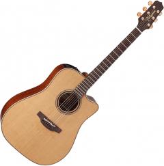 Takamine CP3DC-OV Dreadnought Acoustic Electric Guitar Satin Natural TAKCP3DCOV