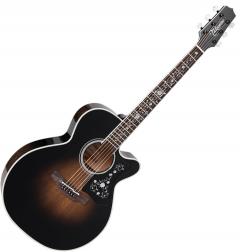 Takamine EF450C-TT NEX Acoustic Guitar Transparent Black Burst TAKEF450CTTBB