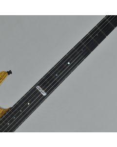 ESP USA M-III 2PT Zebrawood Top Okoume Body Electric Guitar Natural Gloss sku number EUSLEMIIIGTZEBNAT