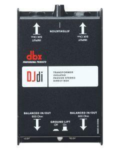 dbx DJD1 2-Channel Passive Direct Box sku number DBXDJDI