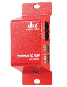 dbx ZC-FIRE ZonePRO Fire Safety Interface DBXZCV-FIRE