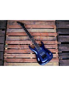 ESP LTD Brian Head Welch SH-7ET FM Signature 7-String Electric Guitar See Thru Purple LSH7ETFMSTP