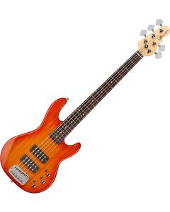 G&L Tribute L-2500 Electric Bass Honeyburst sku number TI-L25-121R38R00