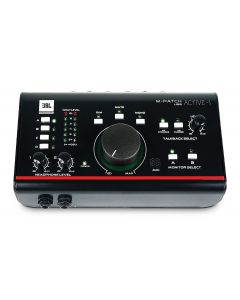 JBL M-Patch Active-1 Precision Monitor Control Plus Studio Talkback and USB I/O sku number ACTIVE-1