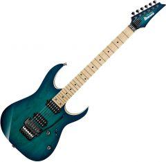 Ibanez RG Prestige RG652AHM Electric Guitar Nebula Green Burst RG652AHMNGB