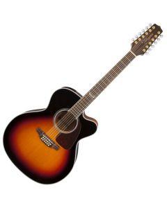 Takamine GJ72CE-12BSB G-Series G70 12 String Acoustic Guitar in Brown Sunburst B-Stock sku number TAKGJ72CE12BSB.B