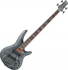 Ibanez SR Bass Workshop SRFF800 Multi Scale Electric Bass Black Stained SRFF800BKS