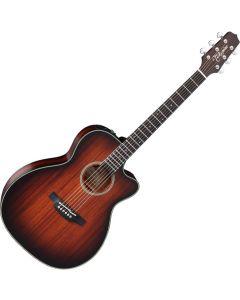 Takamine CP771MC SB OM Cutaway Acoustic Electric Guitar Shadow Burst Satin sku number TAKCP771MCSB