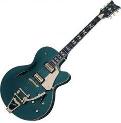 Schecter Coupe Electric Guitar Dark Emerald Green SCHECTER297