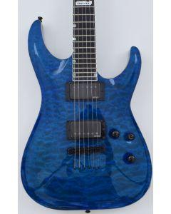 ESP USA Horizon Electric Guitar in See Thru Blue sku number EUSHORSTB