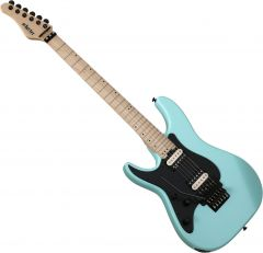 Schecter Sun Valley Super Shredder FR Left-Handed Electric Guitar Sea Foam Green SCHECTER1286
