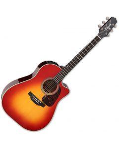 Takamine CP6SSDC Dreadnought Acoustic Guitar Gloss Cherry Sunburst sku number TAKCP6SSDC