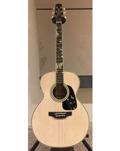 Takamine LTD 2018 Gifu-Cho NEX Acoustic Guitar Glossy Lift-Out Antique White sku number TAKLTD2018GIFUCHO