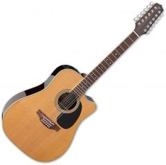 Takamine EF400SC TT Dreadnought Acoustic Guitar Natural Gloss TAKEF400SCTT
