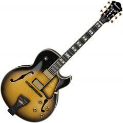 Ibanez LGB300 George Benson Hollow Body Electric Guitar Vintage Yellow Sunburst LGB300VYS