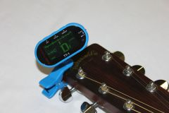 GoGo Tuners Blue TT-1 Chromatic Guitar, Bass, Violin, Viola Tuner 6STT-1Blue