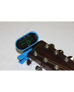 GoGo Tuners Blue TT-1 Chromatic Guitar, Bass, Violin, Viola Tuner sku number 6STT-1Blue
