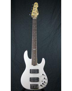 ESP E-II AP-5 STW See Thru White Bass Guitar sku number 6SEIIAP5STW