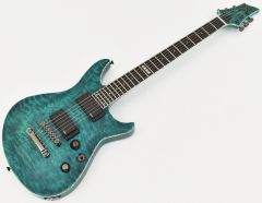 ESP Formula NT Electric Guitar in See Thru Turquoise EFORMULASTT