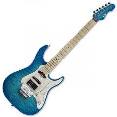 ESP E-II ST-1 QM Maple AQM Aqua Marine Electric Guitar Floyd Rose EIIST1QMAQM