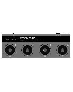 Positive Grid BT-4 Bluetooth MIDI Pedal sku number BT4