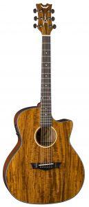 Dean AXS Exotic Cutaway Acoustic Electric Guitar AX E Koa AX E KOA