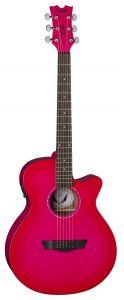 Dean AXS Performer Acoustic Electric Pink Burst AX PE PB AX PE PB