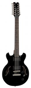 Dean Boca 12 String Classic Black Electric Guitar BOCA12 CBK BOCA12 CBK