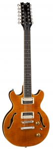 Dean Boca 12 String Trans Amber Electric Guitar BOCA12 TAM BOCA12 TAM
