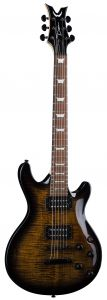 Dean Icon X Flame Top Charcoal Burst Electric Guitar ICONX FM CHB ICONX FM CHB