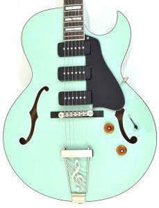 Dean Palomino Hollow Body Electric Guitar Sea Green PALOMINO SG