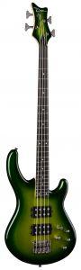Dean Edge 3 Electric Green Metallic Burst Bass Guitar E3 EGMB E3 EGMB