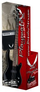 Dean Edge 09 Bass Guitar Pack CBK w/Amp E09 CBK PK E09 CBK PK