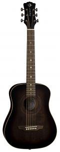 Luna Safari Art Vintage Travel Guitar w/Bag SAF ART VINTAGE SAF ART VINTAGE