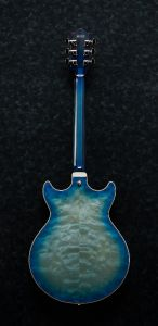 Ibanez AM Artcore Expressionist Jet Blue Burst AM93QM JBB Hollow Body Electric Guitar AM93QMJBB