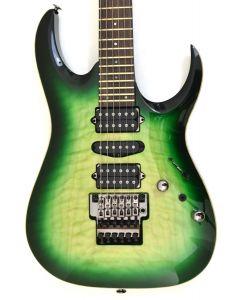 Ibanez Kiko Loureiro Signature w/Case Green Mist Burst KIKO200 GMT Electric Guitar sku number KIKO200GMT