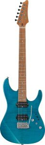 Ibanez Martin Miller Signature Transparent Aqua Blue MM1 TAB Electric Guitar w/Case MM1TAB