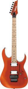 Ibanez RG Prestige RG652AHMS OMF Orange Metallic Burst Flat Electric Guitar w/Case RG652AHMSOMF