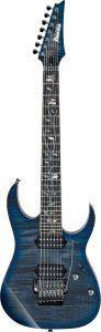 Ibanez j.custom RG 7 String w/Case Sodalite RG8527Z SDE Electric Guitar RG8527ZSDE