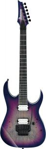 Ibanez RG Iron Label Supernova Burst RGIX6DLB SNB Electric Guitar RGIX6DLBSNB