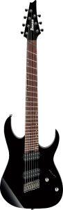 Ibanez RG RGMS7 BK Multi Scale 7 String Black Electric Guitar RGMS7BK