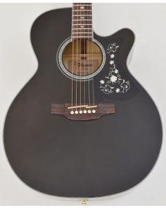 Takamine GN75CE NEX Acoustic Electric Guitar Transparent Black B Stock sku number TAKGN75CETBK.B