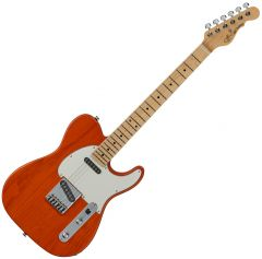 G&L ASAT Classic USA Fullerton Deluxe in Clear Orange FD-ASTCL-ORG-MP