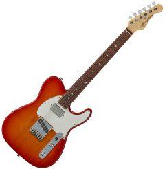 G&L ASAT Classic Bluesboy USA Fullerton Deluxe in Cherry Burst Rosewood FD-ASTCB-CHY-CR
