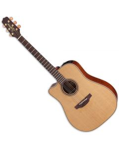 Takamine P3DC Left Handed Acoustic Guitar in Natural Satin Finish sku number TAKP3DCLH