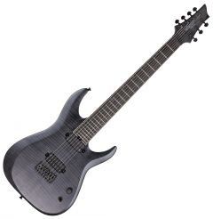 Schecter KM-7 MK-II Keith Merrow Electric Guitar in See Thru Black Pearl SCHECTER301