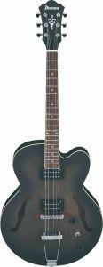 Ibanez AF55 TKF AF Artcore 6 String Transparent Black Flat Hollow Body Electric Guitar AF55TKF