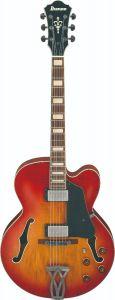 Ibanez AFV75 VAL AFV Artcore Vintage Amber Burst Low Gloss Hollow Body Electric Guitar AFV75VAL