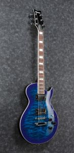 Ibanez ART120QA TBB ART Standard Transparent Blue Burst Electric Guitar ART120QATBB